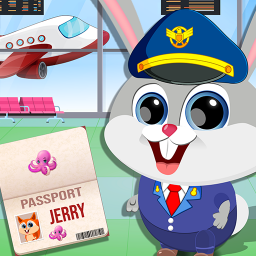 Town Kids Airport Manager Adventure