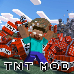 TNT Mod for Minecraft PE