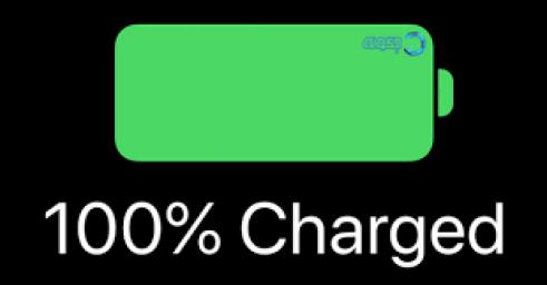 نمایش درصد باتری