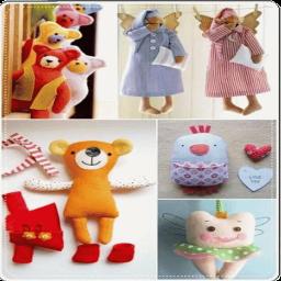 آموزش عروسک سازی ، الگو عروسک نمدی