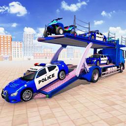US Police limousine Car Driving Offline games
