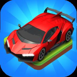 Merge Car game free idle tycoon