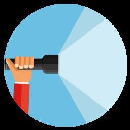 چراغ قوه|حرفه ای|هوشمند|پرنور