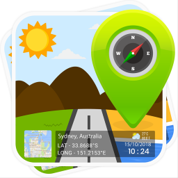 GPS Map Stamp: Geotag Photos with Timestamp Camera