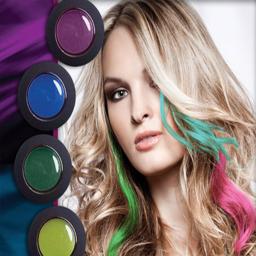 برنامه ترکیب رنگ مو