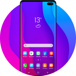 Theme for Samsung S10: Launcher for Galaxy S10