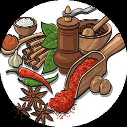 اموزش آشپزی ـ انواع ادویه های غذاها