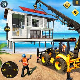 Beach House Builder Construction Games 2021