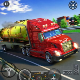 Euro Truck 3D Simulator 2019 Cargo Truck Transport