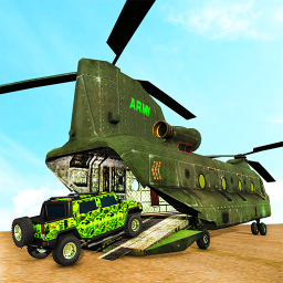 US Army Truck Transport-Car Transporter Truck Game
