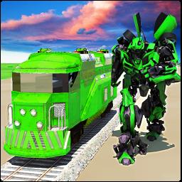 Euro Train Transformation Robot: Train Simulator