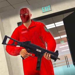 Armed Robbery Heist - Bank Robbery Shooting Game