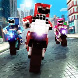 Blocky Super Bike Race Game: Motorcycle Challenge