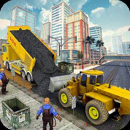 Heavy Duty Road Construction Machine:Excavator sim