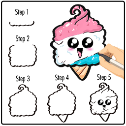 Kawaii Drawing Easy : How to Draw Step By Step