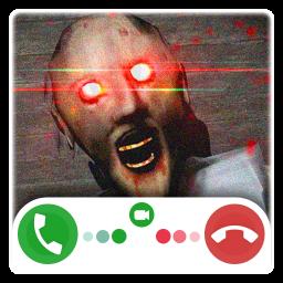 Creepy Granny's Fake Call And Chat