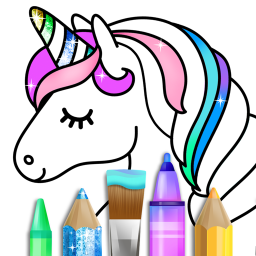 Classic Coloring Book for Girls