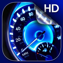 Speedometer Live Wallpaper HD