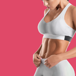 Fitness app with home and gym workouts for women