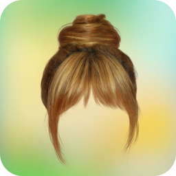 Woman hairstyle photoeditor