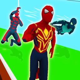 Superhero Transform Race Game