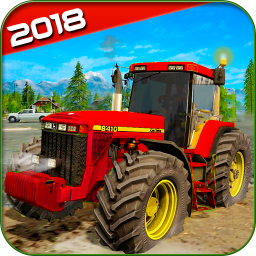 Real farming cargo tractor simulator 2018