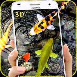 3D Koi Fish Wallpaper HD Fish Live Wallpapers Free