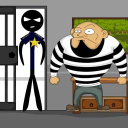 Stickman Jailbreak 3 : Funny Escape Simulation