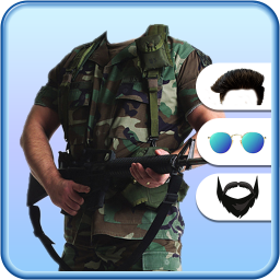 Military Photo Suit : Military Photo Editor