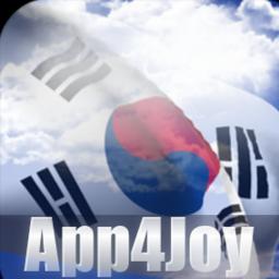 South Korea Flag Live Wallpaper