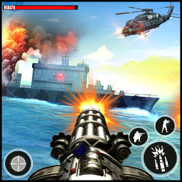 Navy War Machine Gun Shoot : Shooters Action Games