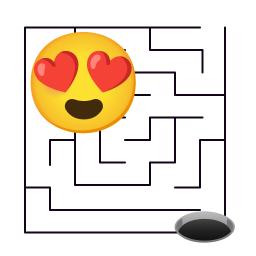 Emoji Maze Games - Challenging Maze Puzzle