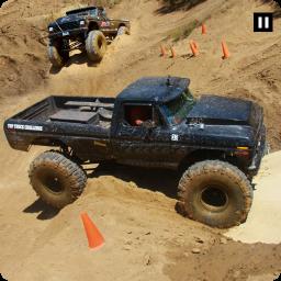 Big Truck Simulator Hill Driving: Monster Truck 3D