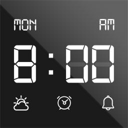 Digital Clock Widget - Analog clock live wallpaper