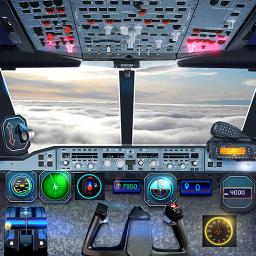 Airplane Pilot Cabin – Flight Simulator 3D