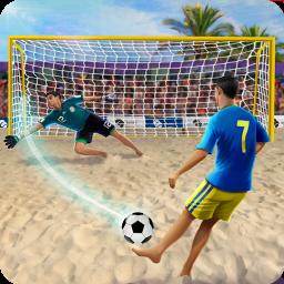 Shoot Goal - Beach Soccer Game