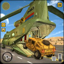 Army Plane Vehicle Transporter Truck Plane Games