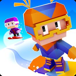 Blocky Snowboarding