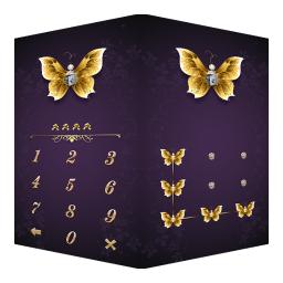 AppLock Theme Butterfly