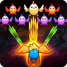 Poultry Shoot Blast: Free Space Shooter