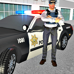 US Police Car Driver: Mad City Crime Life 3D