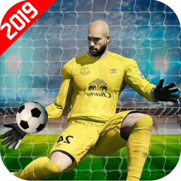 Football Soccer Players: Goalkeeper Game