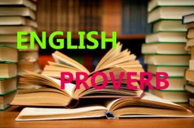 ضرب المثل های زبان انگلیسی