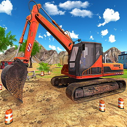 New Heavy Excavator Simulator:Excavator Games 2020
