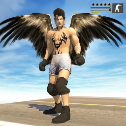 Flying Falcon Hero Simulator:Miami Crime City 2020