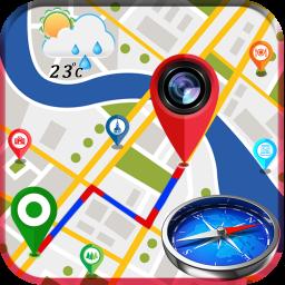 GPS Map Camera - Compass & Navigation