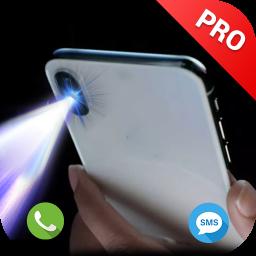 Flash on Call & SMS, Flashlight Alert Bright Torch