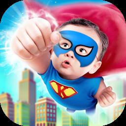 Superhero Kids Photo Editor