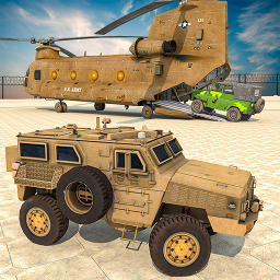 US Army Vehicle Transporter Truck: Military game