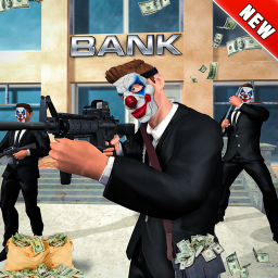 NY City Bank Robbery Gangster Police Battle